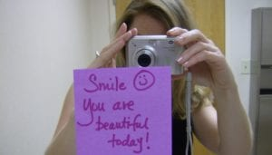 operation beautiful post it note
