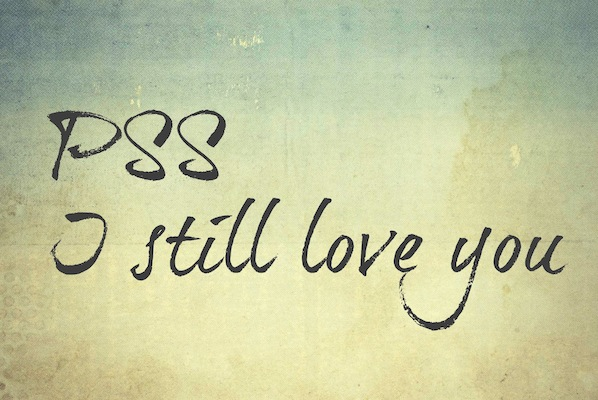 PSS.I still love you